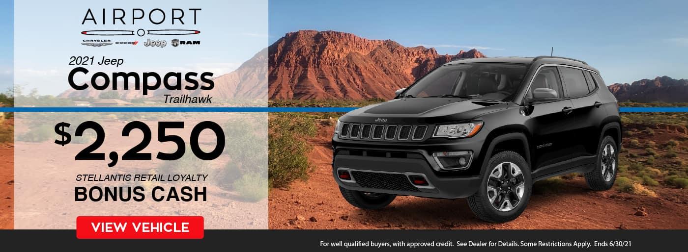 June 2021 – Jeep Compass Promotion
