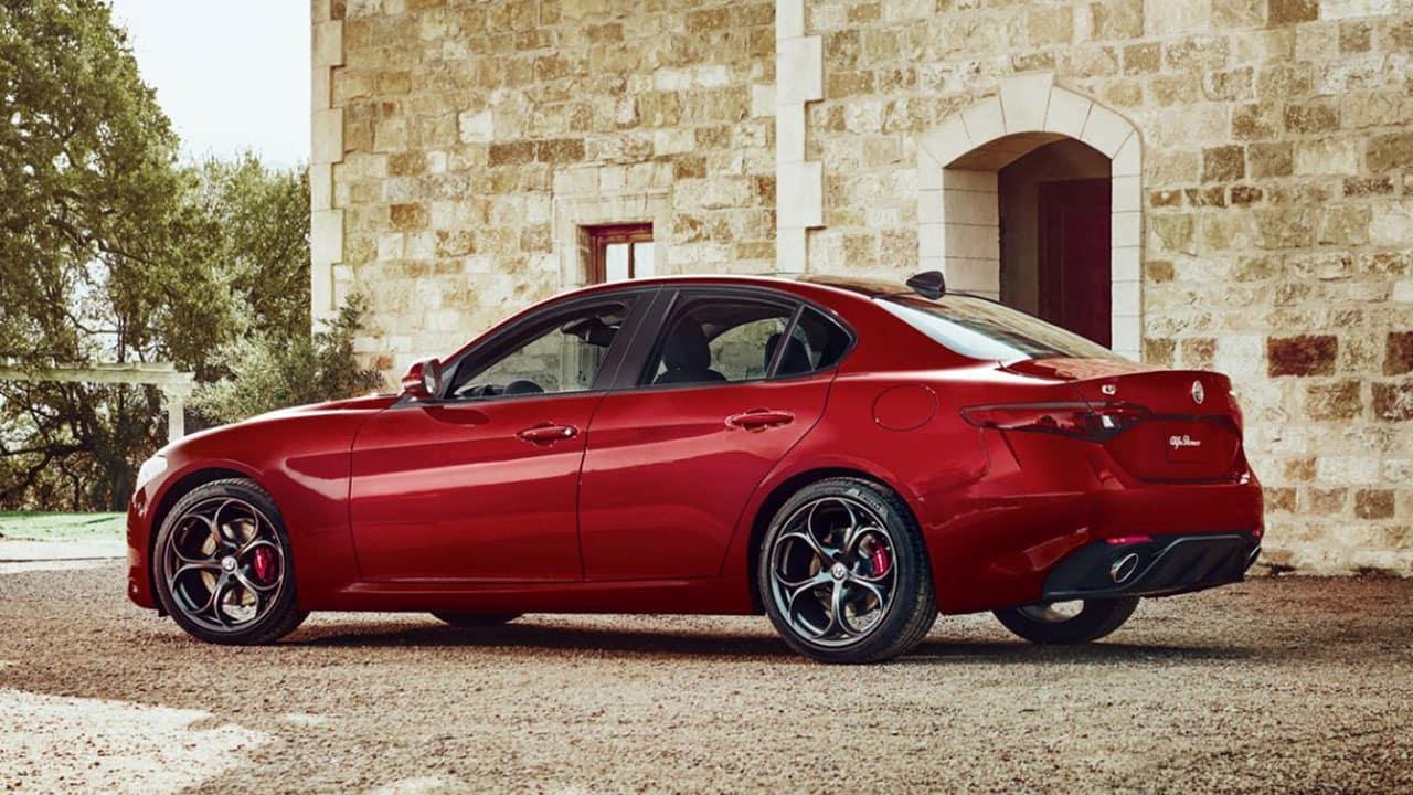 Alfa Romeo Giulia lease special