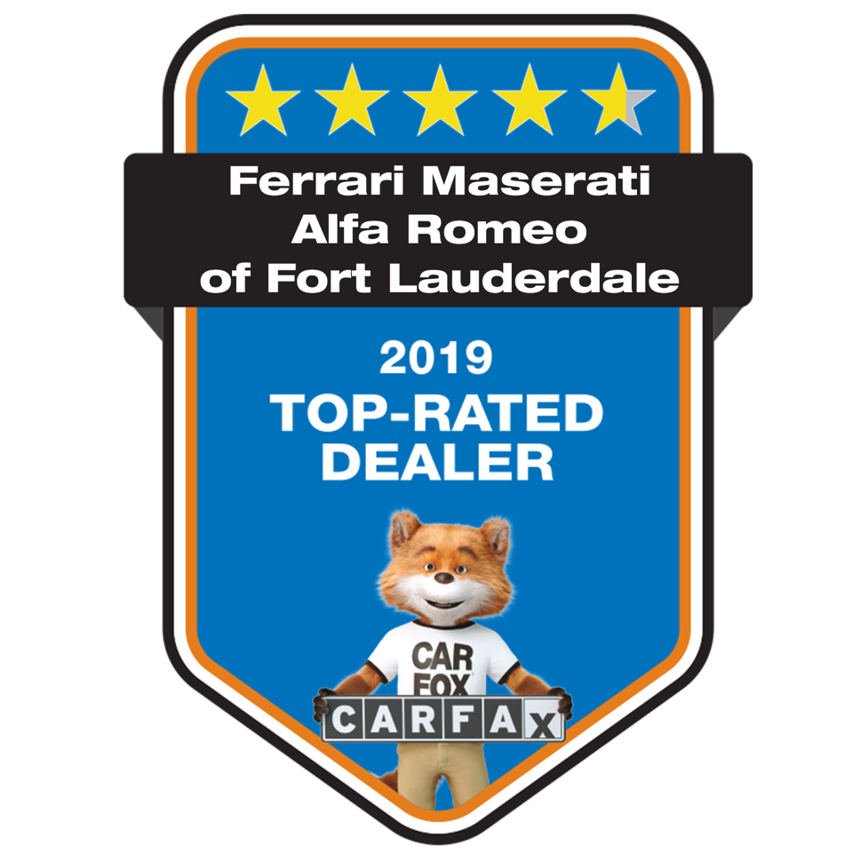 Alfa Romeo Fort Lauderdale CARFAX Dealer of the Year