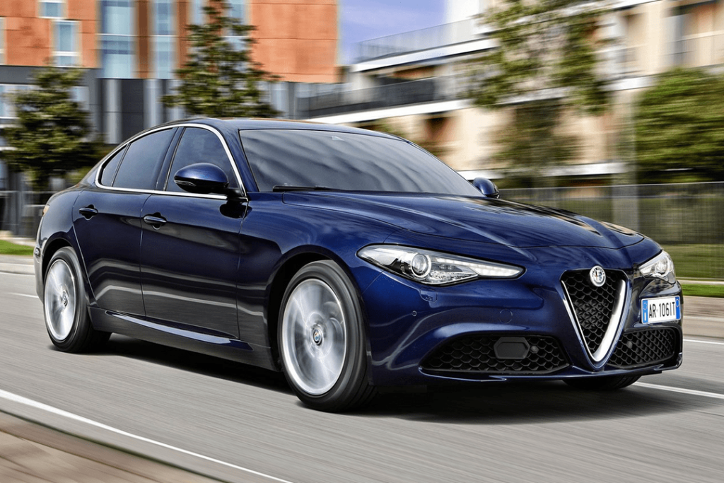 2020 Alfa Romeo Giulia Sign & Drive Lease Offer