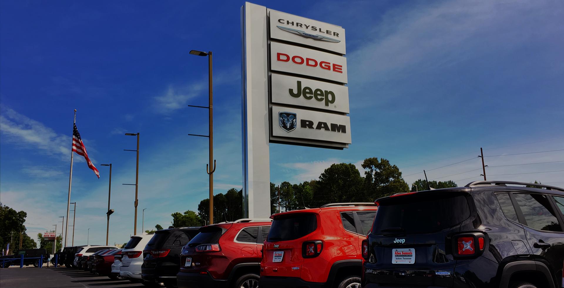 dodge dealership jackson tn Allen Samuels Chrysler Dodge Jeep Ram (Jackson)  CDJR Dealer in