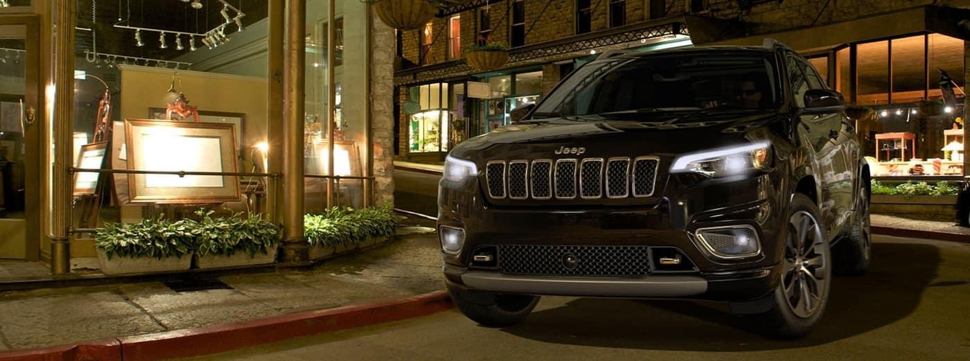 2020 Black Jeep Cherokee