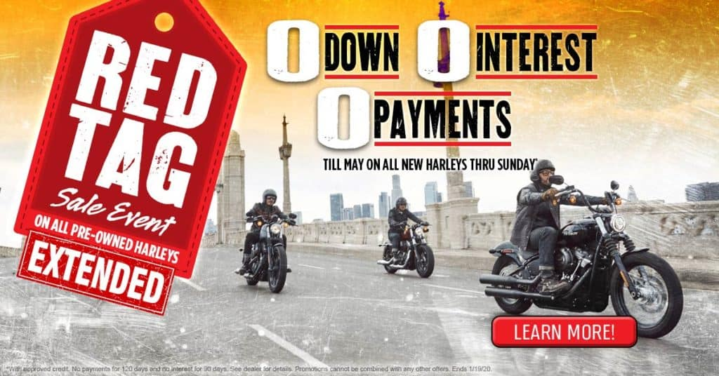 Red Tag Pre-Owned Sale Event or Triple Zero Extended