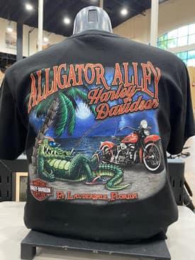 Alligator Alley Harley-Davidson Tee Shirts