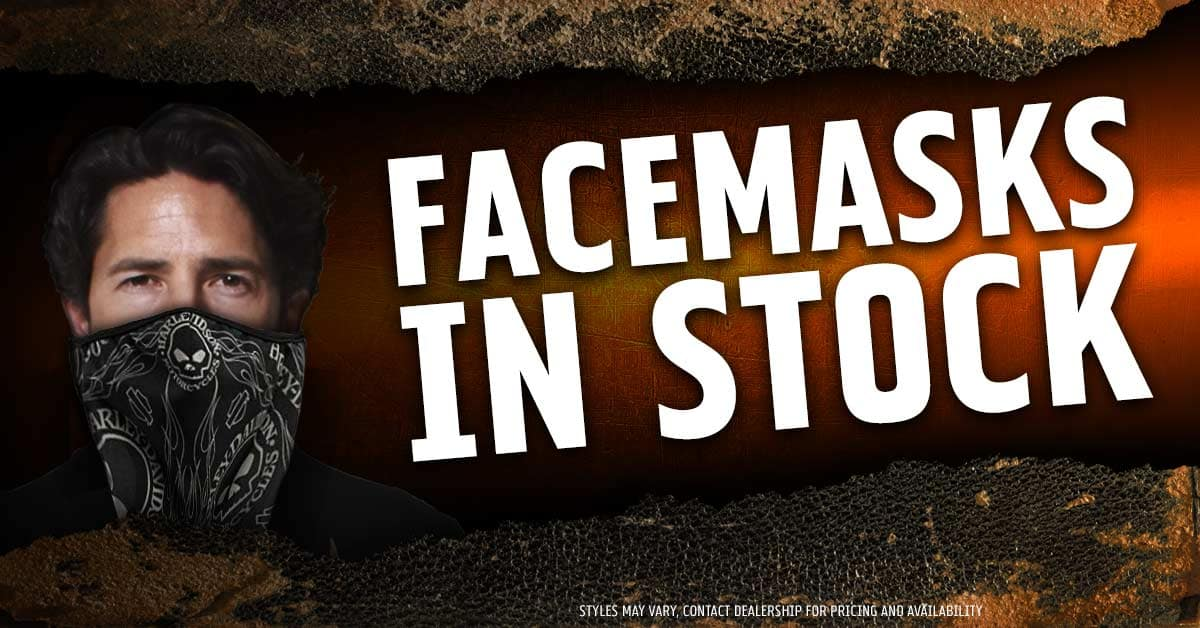 Assorted Biker Face Masks In Stock