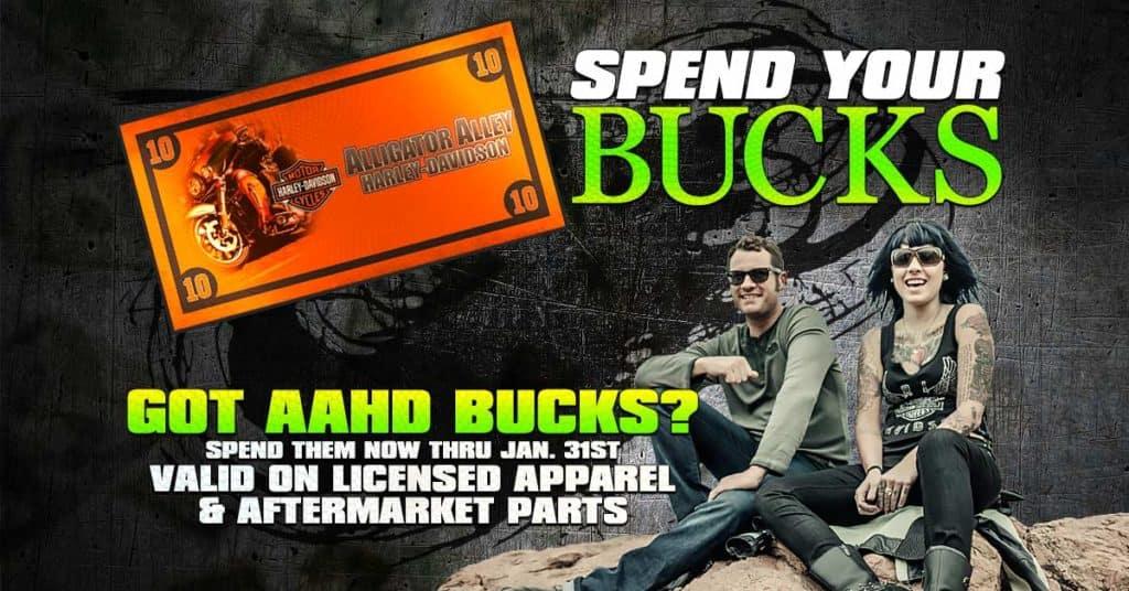 Spend Your Bucks