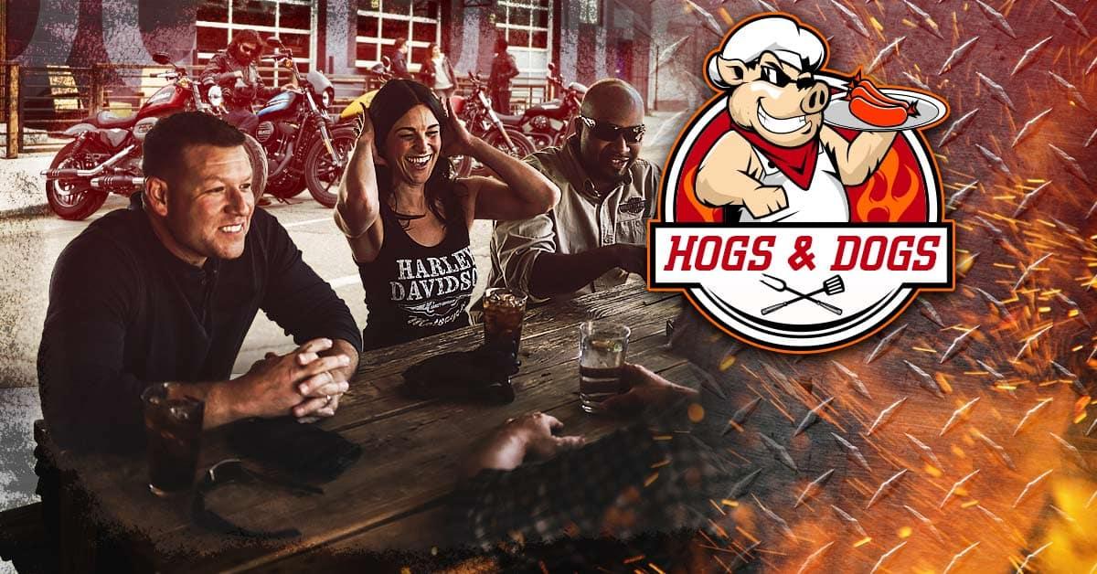 Hogs N Dogs at Alligator Alley Harley