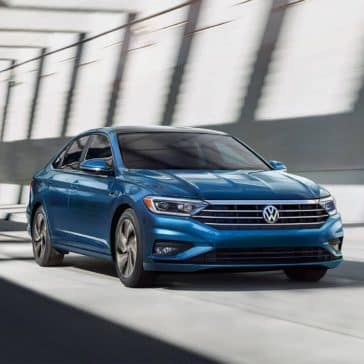 2019-Jetta-SEL-premium-in-silk-blue-metallic-driving