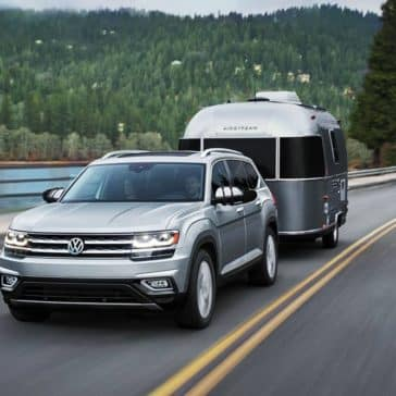 2019 VW Atlas Towing Trailer