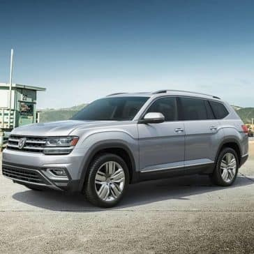 2019 VW Atlas Parked