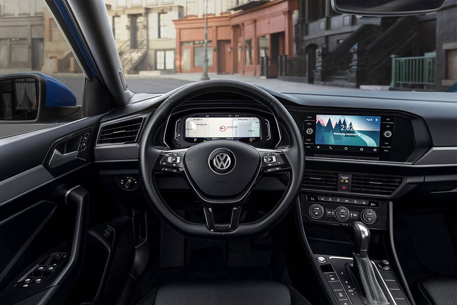 2019-Volkswagen-Jetta-SEL-Premium-titan-black-leather-interior-dashboard