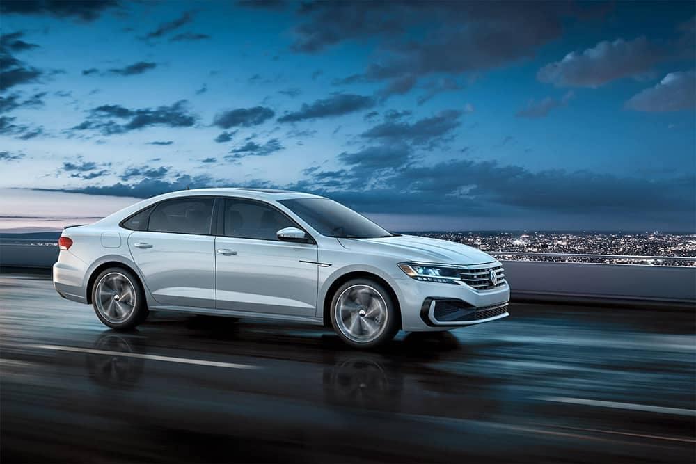 2020 VW Passat At Dusk