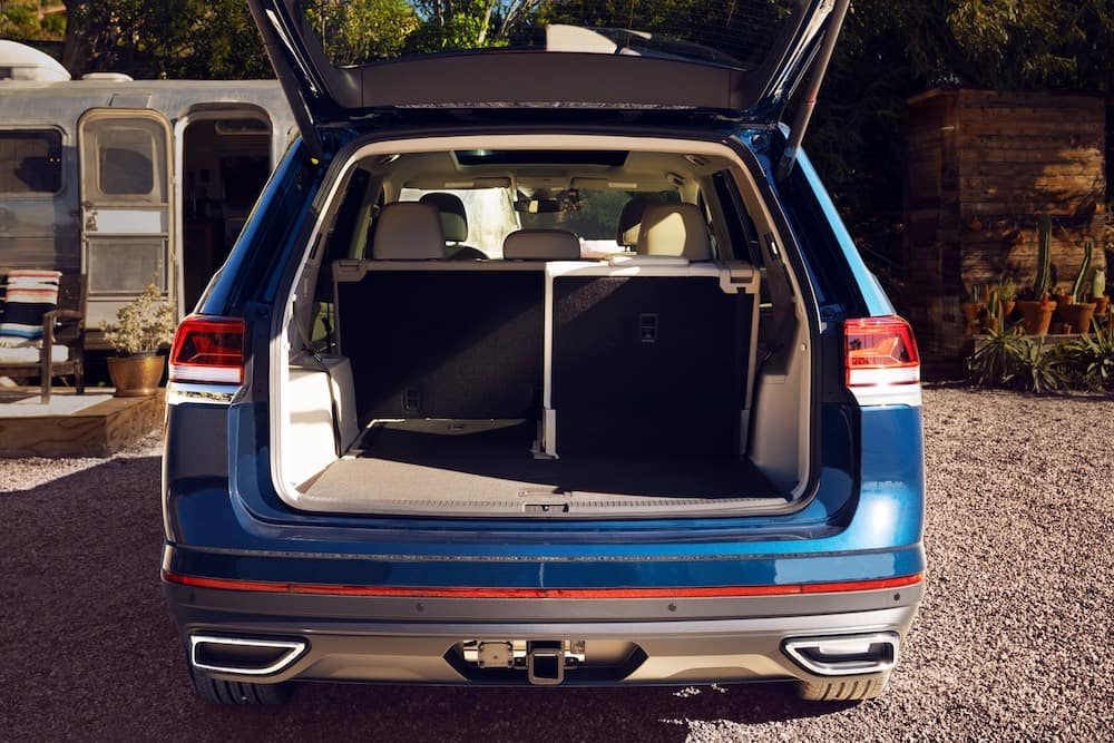 2021 VW Atlas Hatch Up Cargo Area