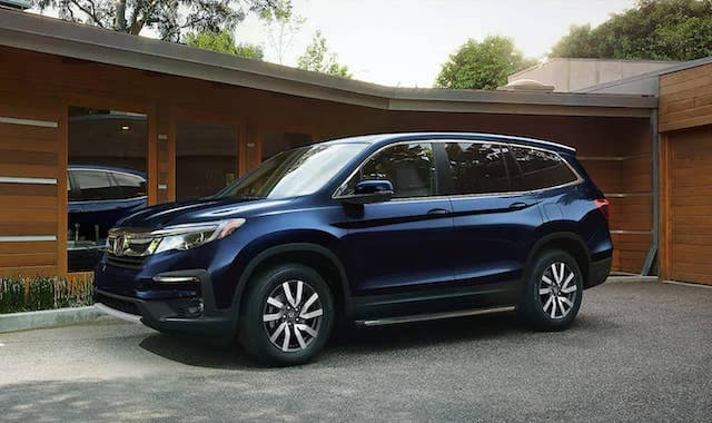 2020 Honda Pilot Parked
