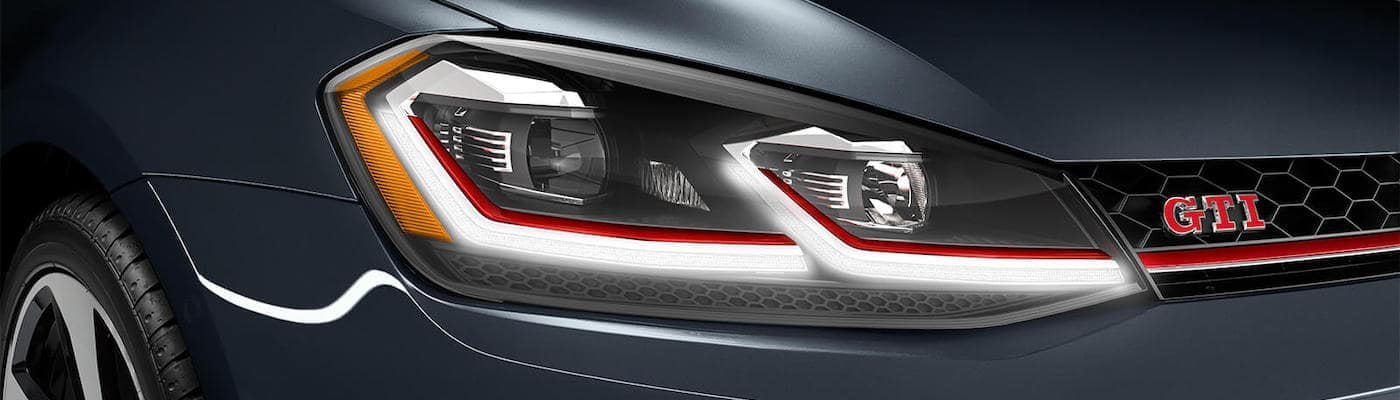 VW GTI Headlight and Grille