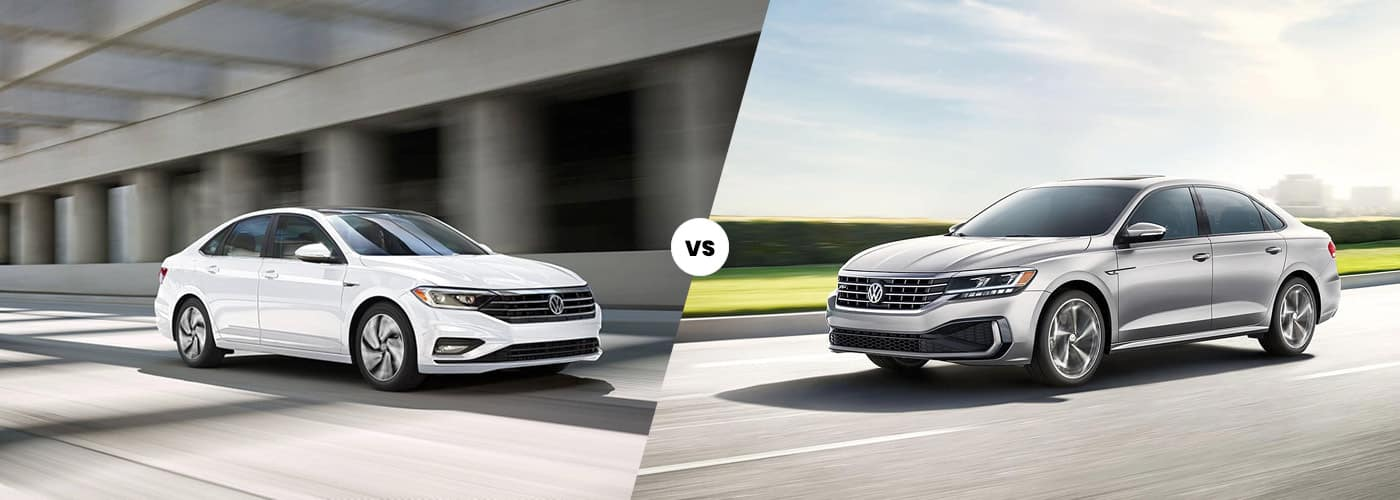 2020 Volkswagen Jetta vs. 2020 Volkswagen Passat