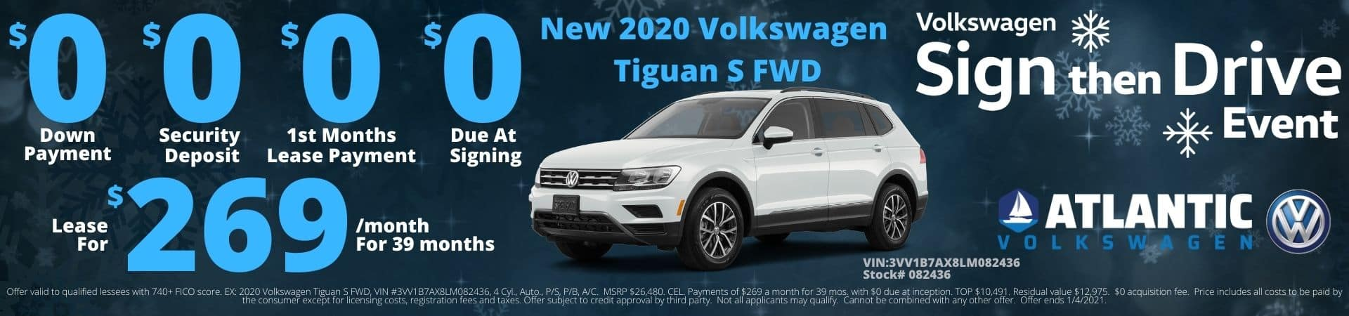 Tiguan S Special Offer