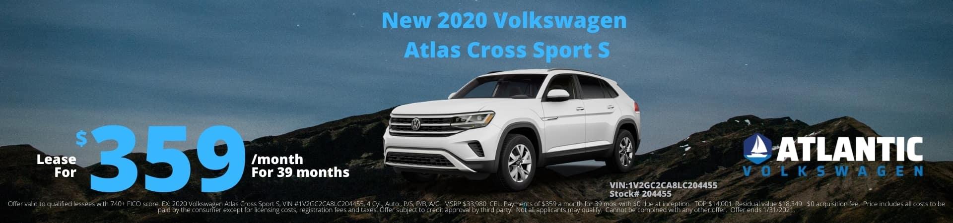 2020-12 Atlantic VW 2020 VW Atlas Cross Sport S 1920×450
