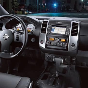2019 Nissan Frontier Dash