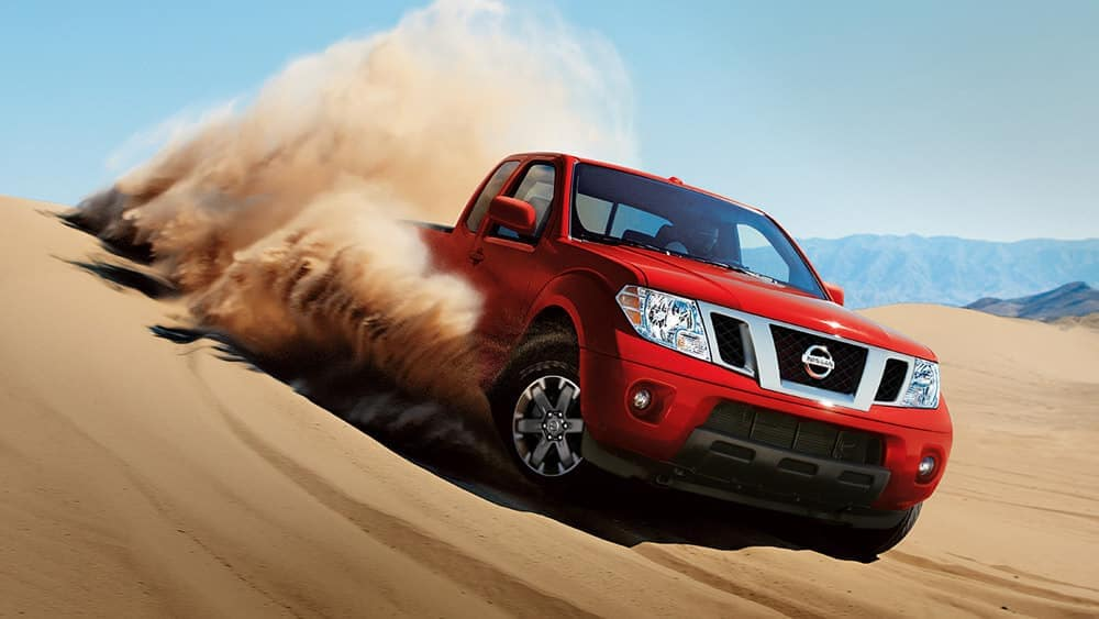 2019 Nissan Frontier In The Sand