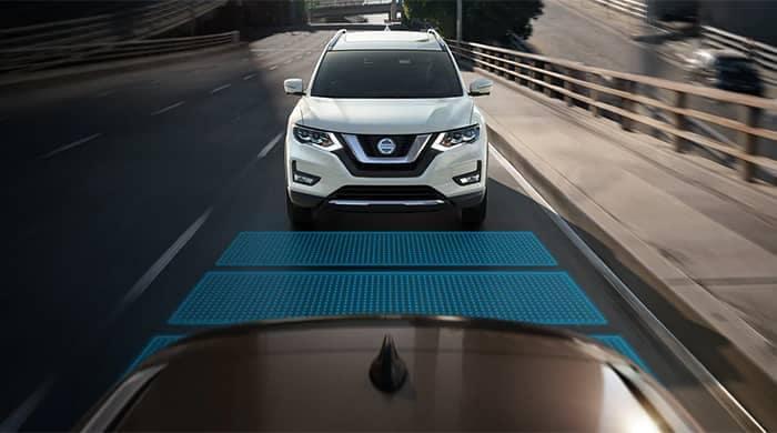 Nissan Rogue Driving