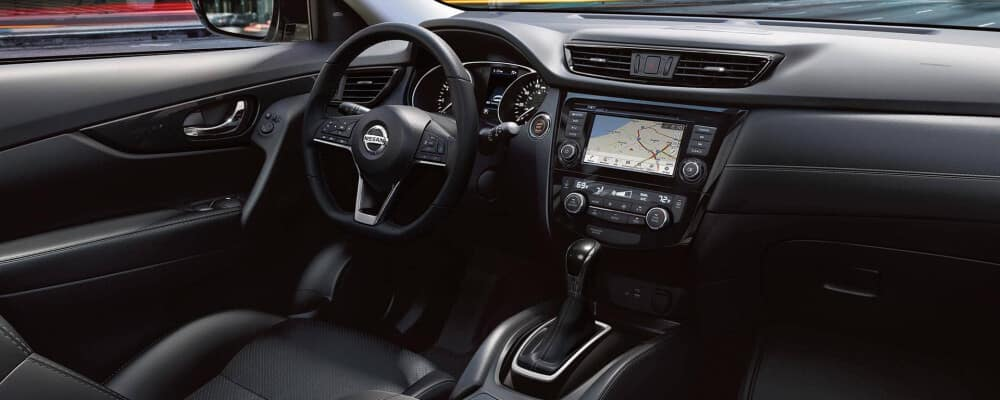 Nissan Rogue Front Seating