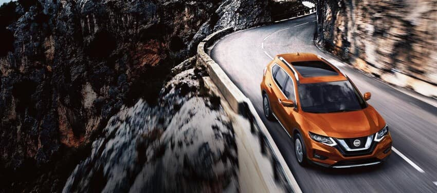 2020 Nissan Rogue Driving on Highway