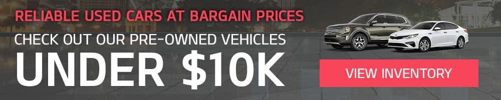 Price under 10k banner