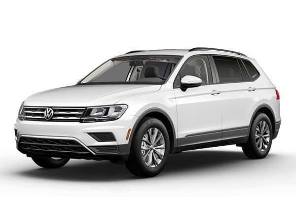 New 2021 Volkswagen Tiguan S w/4motion