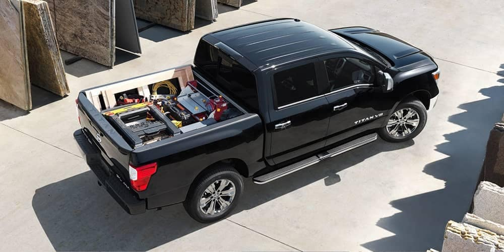 2019 Nissan Titan Loaded Bed