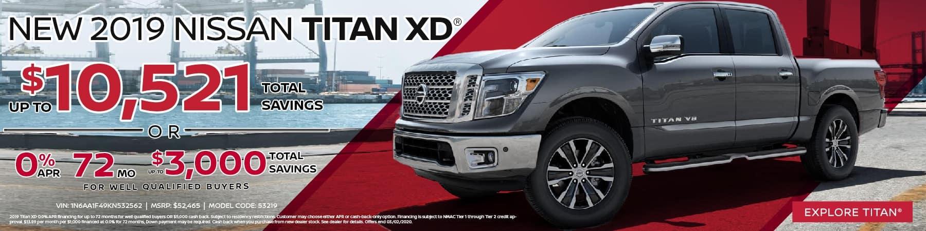 New 2019 Nissan Titan XD