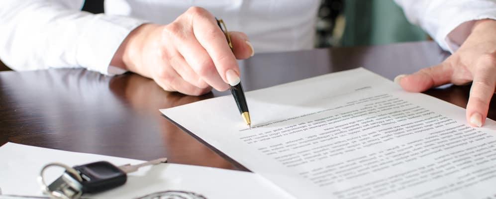 gap insurance contract