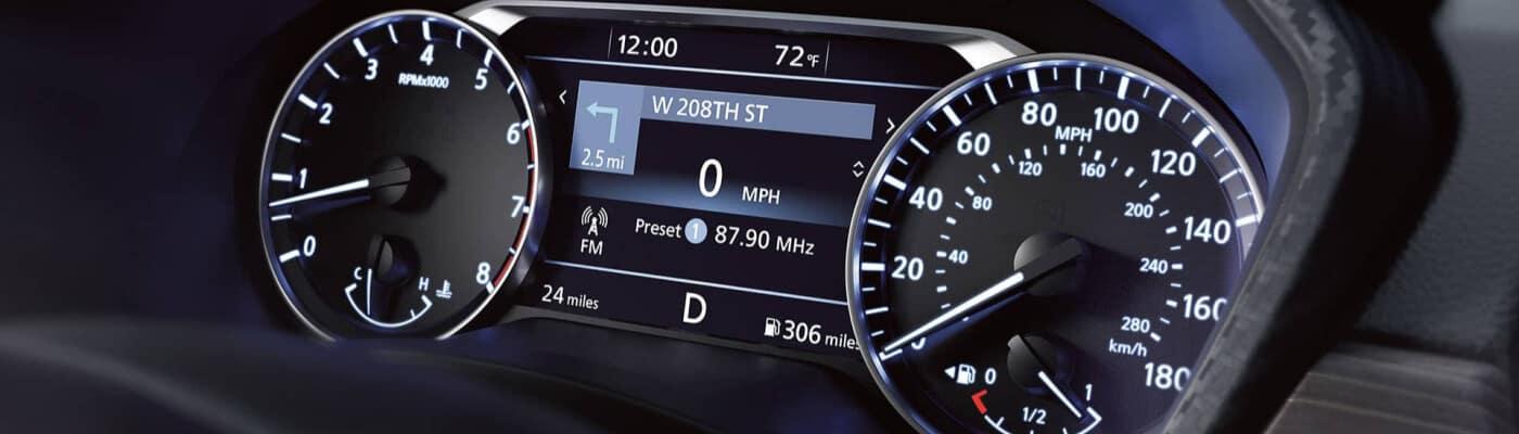 Nissan Interior Dashboard