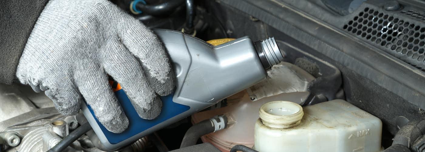 Brake Fluid Bottle