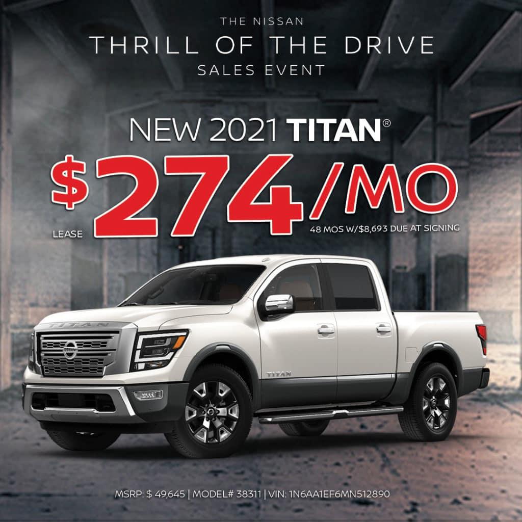 New 2021 Nissan Titan Lease