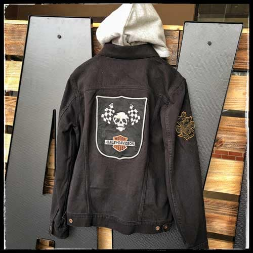 Skull Jacket Back