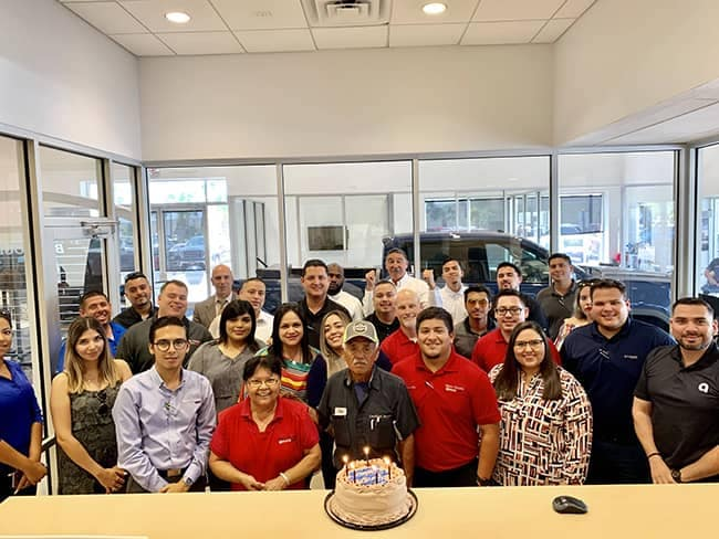 Community and Events - employee-Juan Bargas 70th Birthday