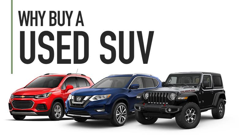 Why Buy a Used SUV - Bert Ogden Mission Auto Outlet - Mission, TX