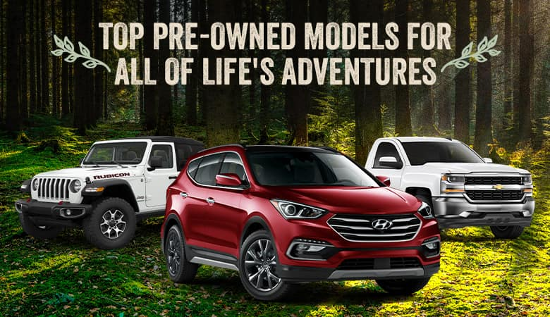 Best Used Vehicles For Weekend Adventurers - Bert Ogden Mission Auto Outlet - Mission, TX