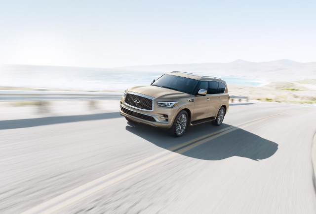 INFINITI QX80 - Best Used Vehicles To Drive To Impress - Bert Ogden Mission Auto Outlet - Mission, TX