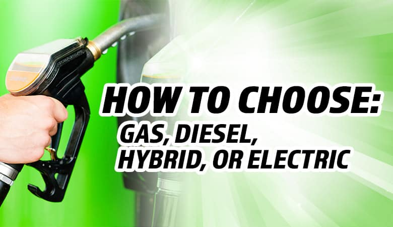 Choosing Between a Gas, Diesel, Hybrid, and Electric Vehicle - Bert Ogden Mission Auto Outlet - Mission, TX