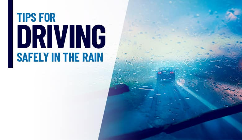 Tips for Driving Safely in the Rain | Bert Ogden Auto Outlet | Mission, TX