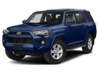 Angled view of the Toyota 4Runner