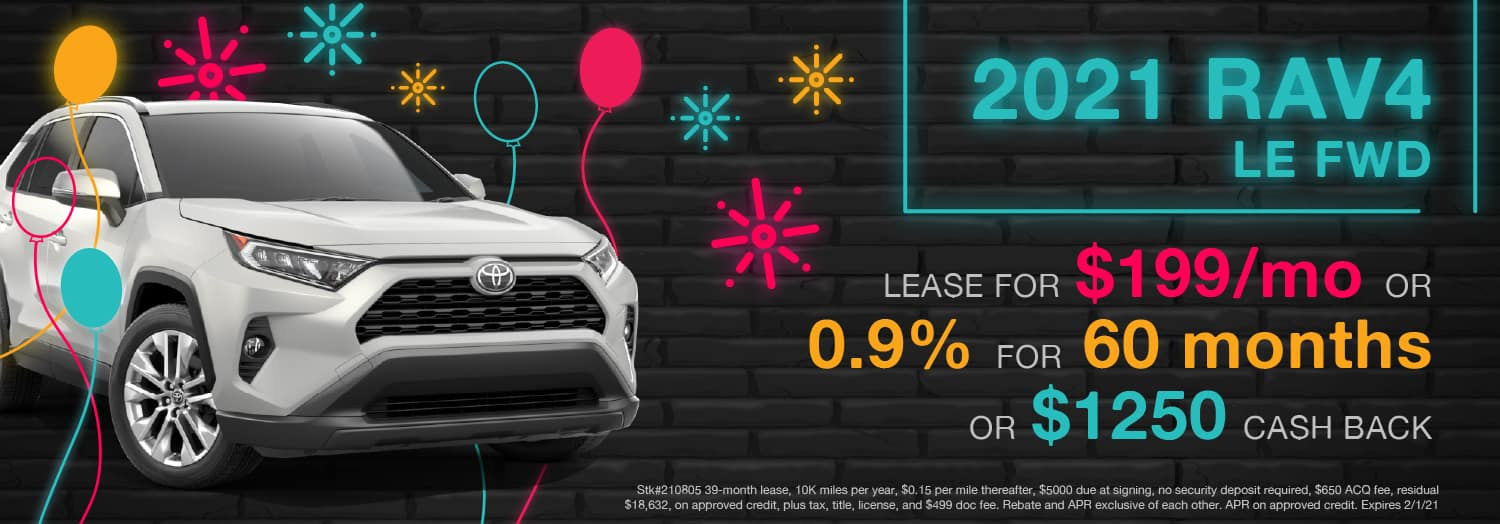 2021 RAV4 LE FWD - Berge's Riverview Toyota