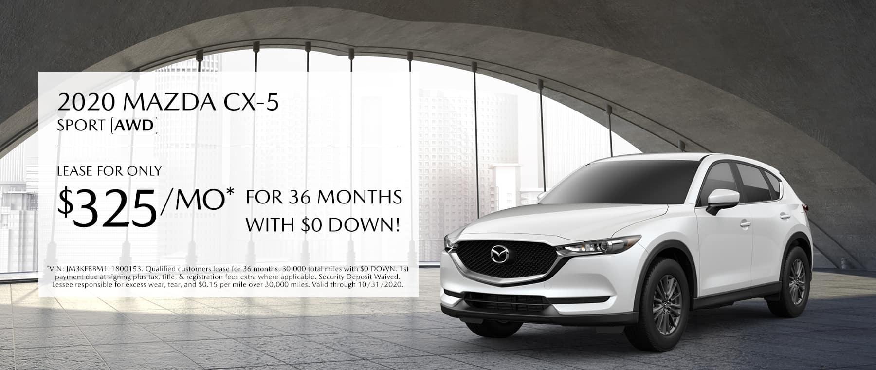 2020 Mazda CX-5 Offer