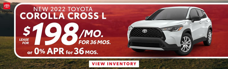 CLTH-October 2021-2022 Toyota Corolla Cross copy