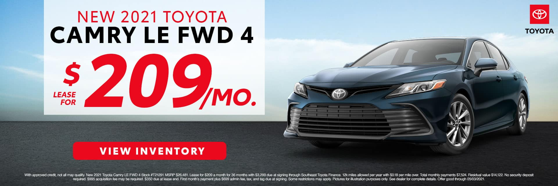 CLTW-April 2021-2021 Toyota Camry