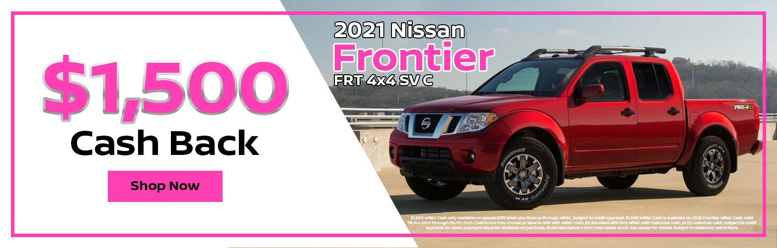 2021 Nissan Frontier Special Offer from Dave Smith Nissan in Spokane, WA