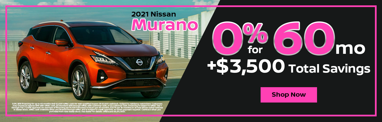 2021 Nissan Murano Special from Dave Smith Nissan in Spokane, WA