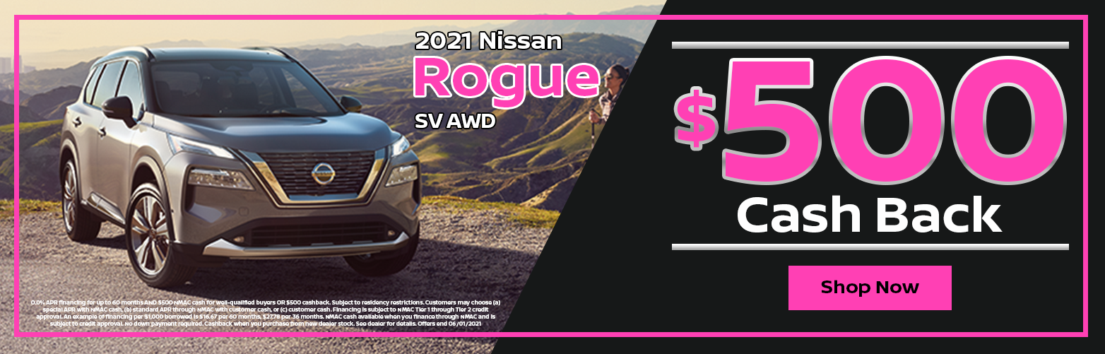 2021 Nissan Rogue Special at Dave Smith Nissan in Spokane, WA